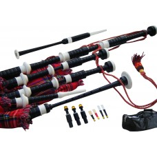 Highland Bagpipe, African Blackwood, Ivory Mounts