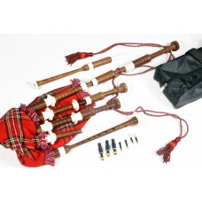 Highland Bagpipes Rosewood, Ivory Mounts