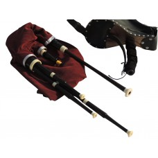 Scottish Smallpipes in A, with Bellows