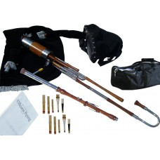 Uilleann Pipes Half Set, Rosewood with 3 Key Chanter