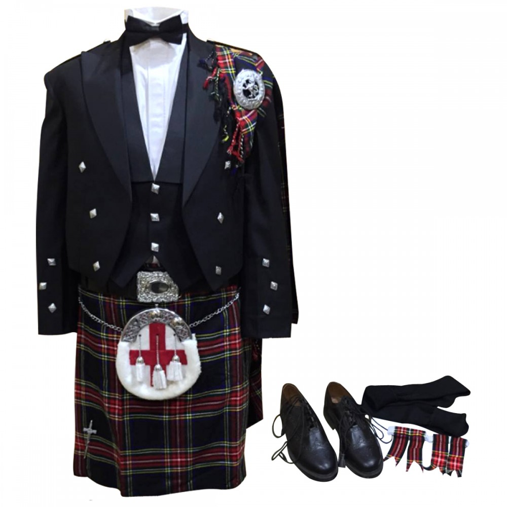 White Wedding Kilt: Kilt Outfits For Weddings 17 Pieces