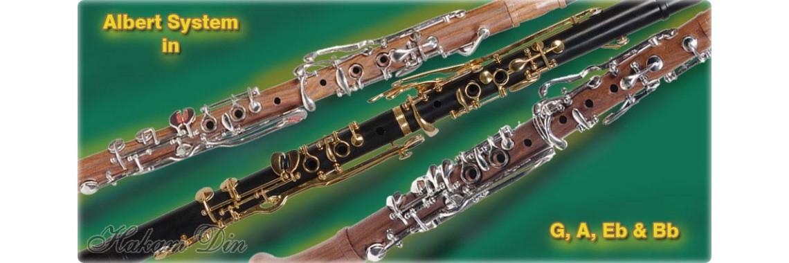 Albert System Clarinets